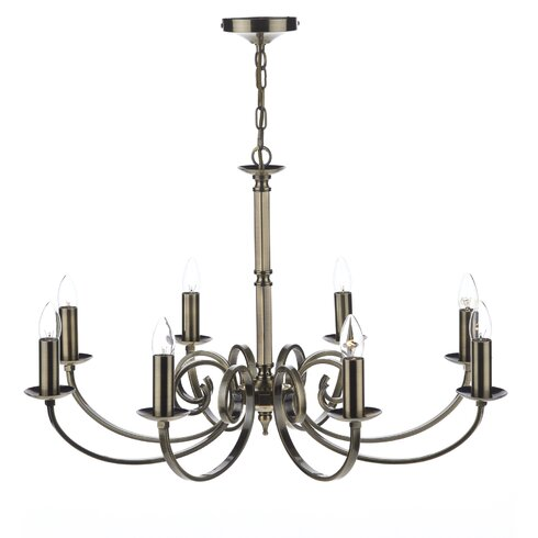 Murray 8 Light Candle Chandelier