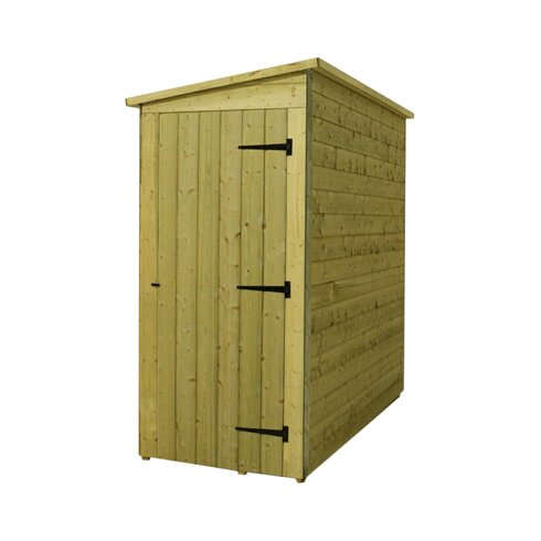 12 x 3 Wooden Lean-To Shed