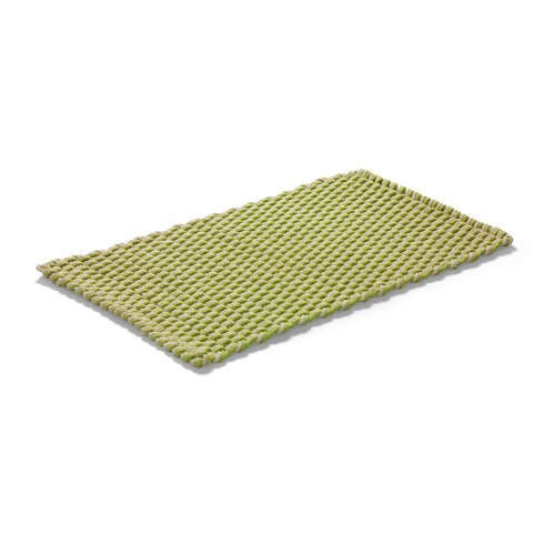 Rope Green Area Rug