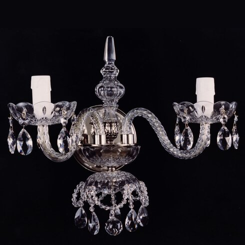 2 Light Candle Sconce