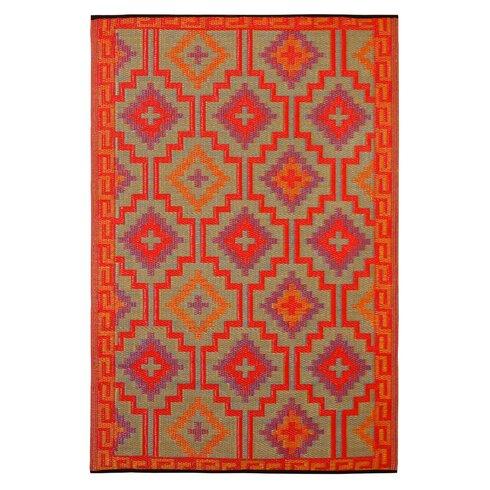 Lhasa Orange/Violet Rug