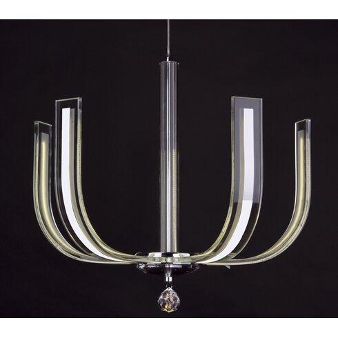 Carina 4 Light Geometric Pendant