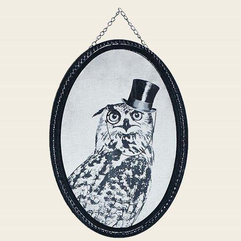 Oswald Owl Framed Art Print