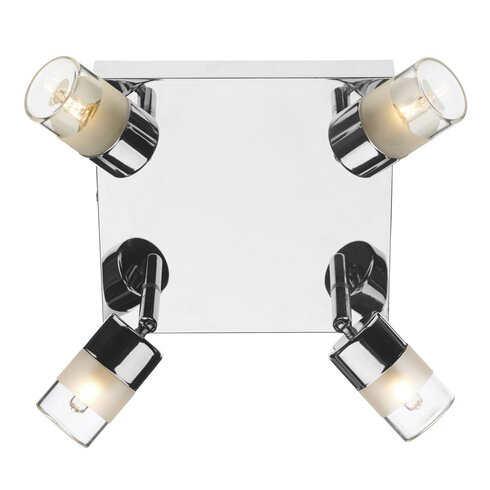 Artemis 4 Light Semi-Flush Wall Light