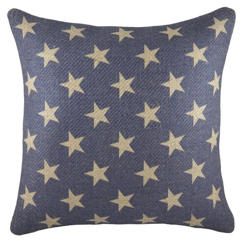 Blue Patriotic Pillow 4th of July Celebration