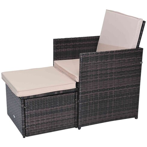 10 Seater Dining Set with Upholstery Cushions