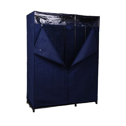 Clothes Rail with Zippered Cover