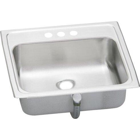 """Asana 19"""" x 17"""" Pacemaker Kitchen Sink"""