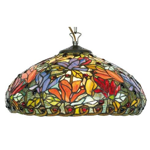 Design-Pendelleuchte 1-flammig Tiffany
