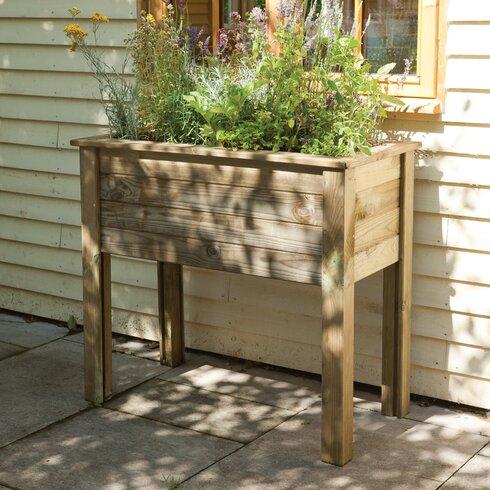 Bamburgh Rectangular Raised Garden