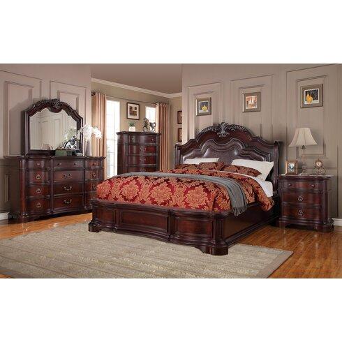 Avalon Furniture Lavon Lake Panel Customizable Bedroom Set