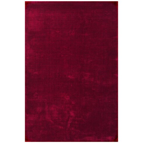 Bellagio Hand-Woven Red Area Rug