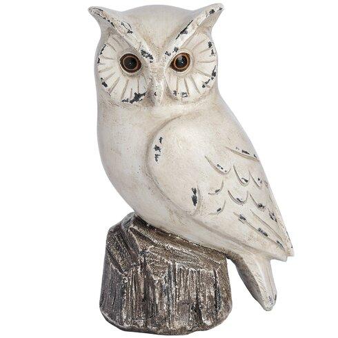 Right Owl Figurine