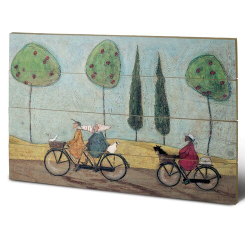 A Nice Day for It by Sam Toft Art Print Plaque