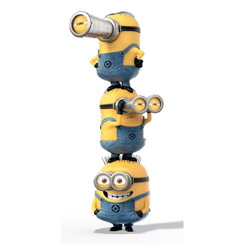 Despicable Me Stacked Canvas Wall Art