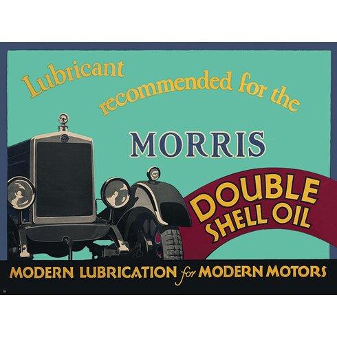 Shell Morris, 1928 Vintage Advertisement Canvas Wall Art