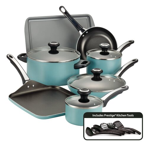 High Performance Nonstick 17 Piece Cookware Set