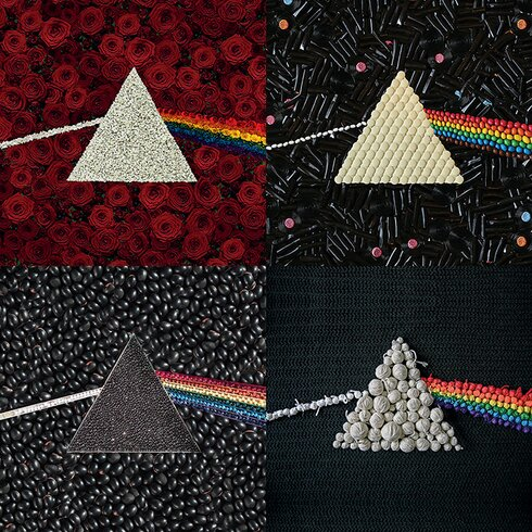 Pink Floyd Dark Side Of The Moon - Collections Canvas Wall Art