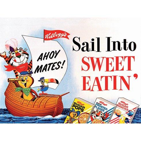 Kellogg's Sail Into Sweet Eatin' Canvas Wall Art