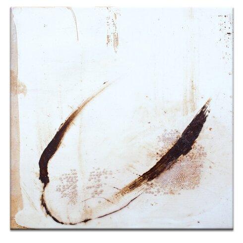 Encaustic 7 by Gill Cohn Art Print on Canvas