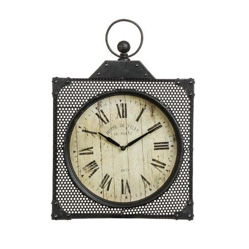 New York Bantock Loft Metal Wall Clock