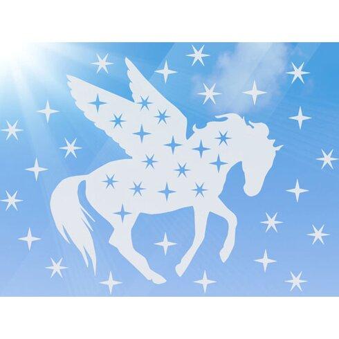 Glastattoo Pegasus, Sterne