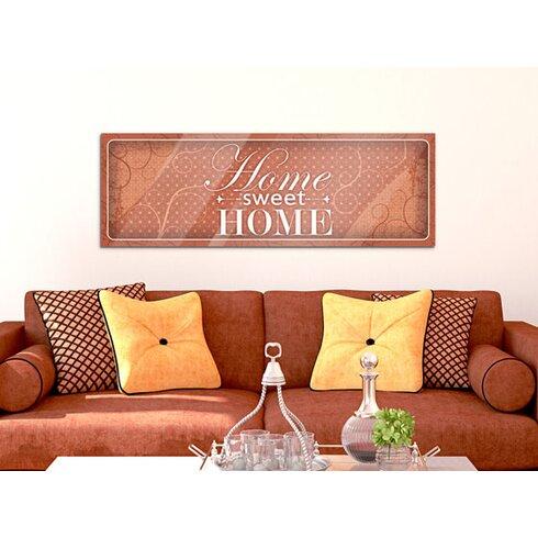 Acrylglasbild Home Sweet Home
