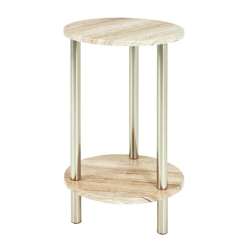 Round Country Side Table