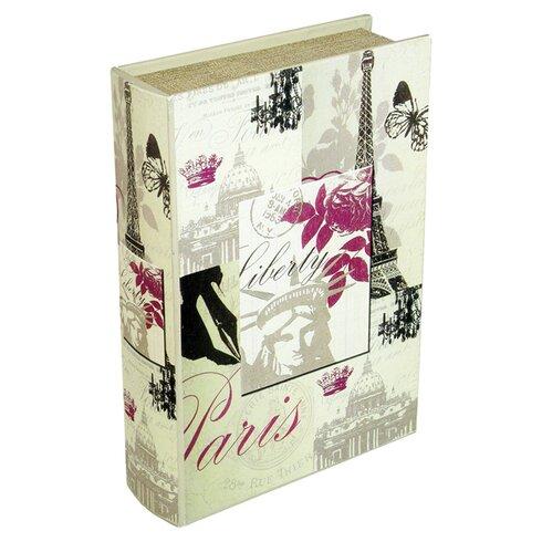Paris Storage Book Box I in Cream