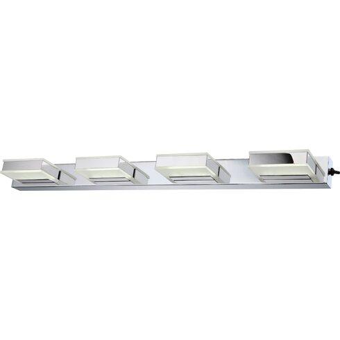 Harper 4 Light Semi-Flush Wall Light