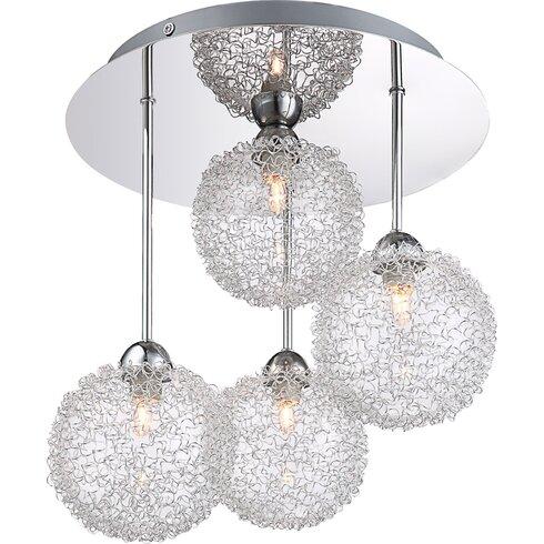 4 Light Ceiling Spotlight