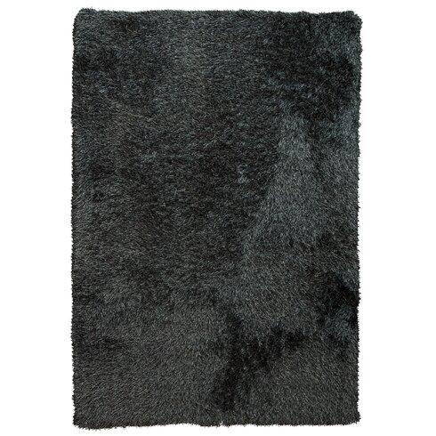Love Black Area Rug
