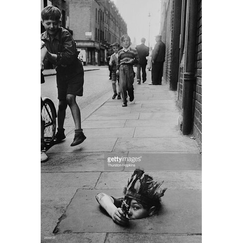 Street Games by Thurston Hopkins Photographic Print