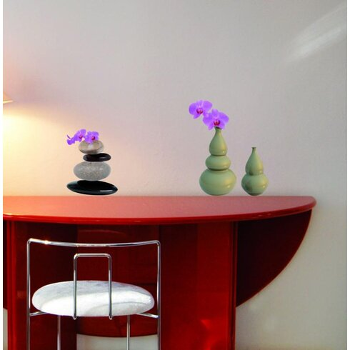 Stones and Pots Wall Sticker
