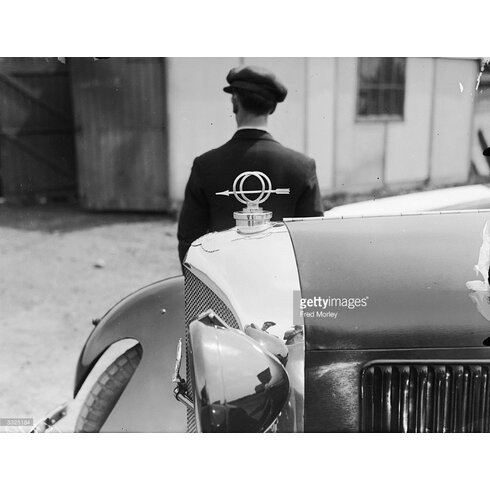 Bentley Mascot by Fred Morley Photographic Print