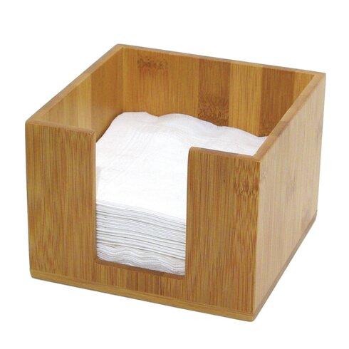 Natural Materials Bamboo Napkin Holder