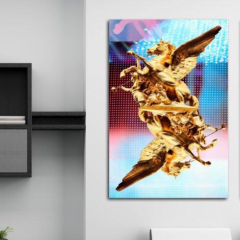 Unicorn Universe Graphic Art on Canvas