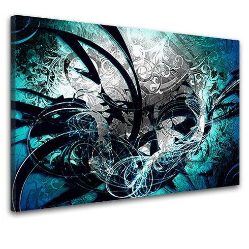 Jungle Graph Graphic Art on Canvas