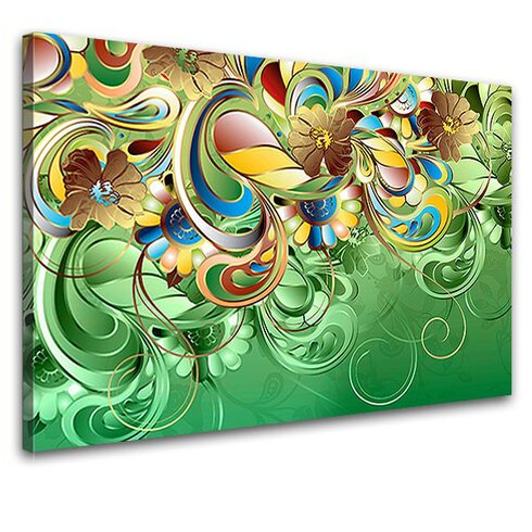 Curvature Graphic Art on Canvas