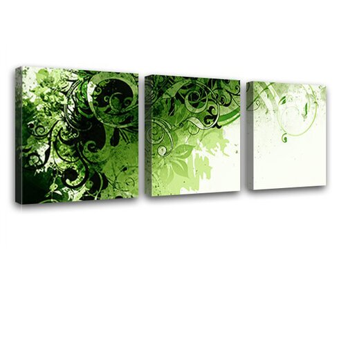 Jungle Drum 3 Piece Graphic Art on Canvas Set