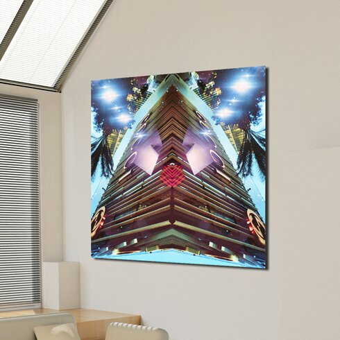 Fashion Towers Graphic Art on Canvas