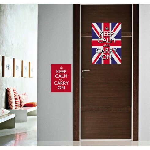 Keep Calm Carry on Wall Sticker