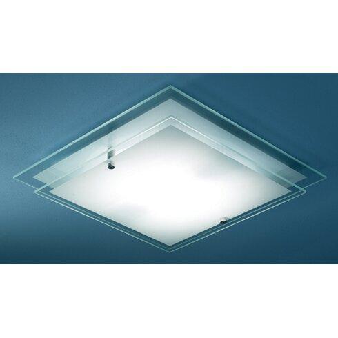 Frame 1 Light Flush Ceiling Light