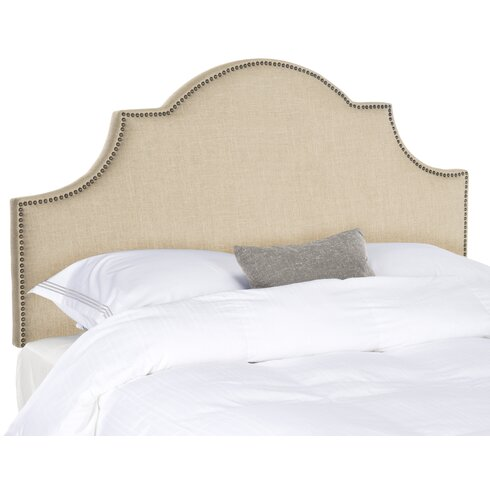 alcott hill caswell upholstered headboard  reviews  wayfair, Headboard designs