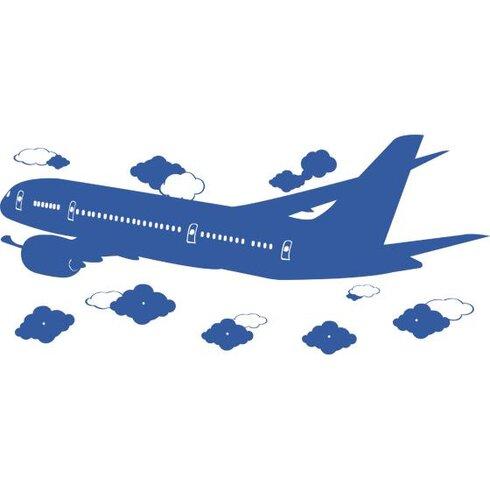 Garderobenhaken Flugzeug, Wolken
