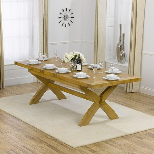 Sandringham Extendable Dining Table and 10 Chairs