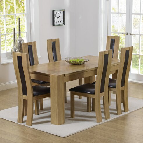 Barrow Dining Table and 4 Chairs