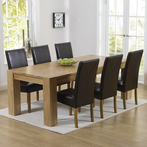 Barrow Dining Table and 6 Chairs