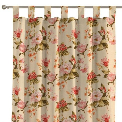 London Single Curtain Panel