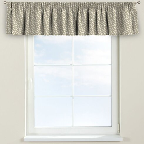 Flower Pencil Pleat Tier Curtain